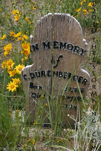 Nugget #185 Wooden Marker 1864