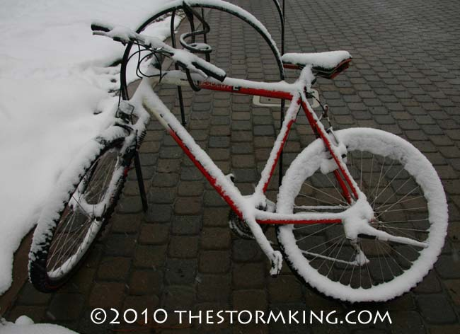 Nugget #195 Bicycle in Snow
