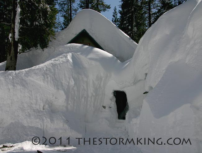Nugget #203 House with Hole Donner  Pass Rd