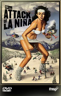Nugget #217 La Nina Ski Movie  Poster